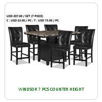 WINDSOR 7 PCS COUNTER HEIGHT